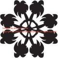 50cmパターン(ヤシの木2)