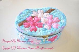 画像1: 桜のバニティポーチ