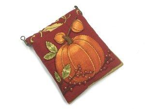画像2: かぼちゃのバネ口ポーチ