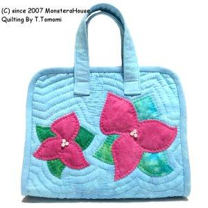 画像1: ブーゲンビリアのバッグinバッグ