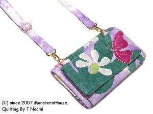 画像2: ナウパカと蝶のお財布ポシェット