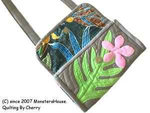 画像2: ラウアエとプルメリアのお財布ポシェット