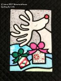 12月:トナカイのプレゼント Pattern