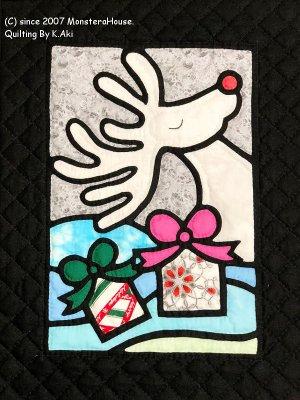 画像1: 12月:トナカイのプレゼント Pattern