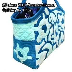 画像2: ホヌのタウンバッグ(スクロールデザイン)