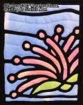 サガリバナのステンドグラスキルトタペストリー20_25